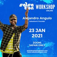 Picture of SALSATION® Workshop with Alejandro, Online, Japan only, 23 JAN 2021