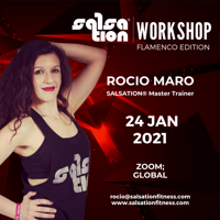 Picture of SALSATION® Workshop Flamenco Edition with Rocio, Online, Global 24th JAN 2021