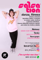 Picture of SALSATION® class with Marta del Puerto, Thursday, 20:00
