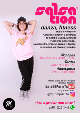 Picture of SALSATION® class with Marta del Puerto, Saturday, 10:30