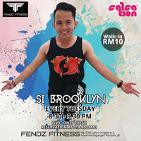 Picture of SALSATION® class with Brooklyn Firdee, Tuesday, 20:30
