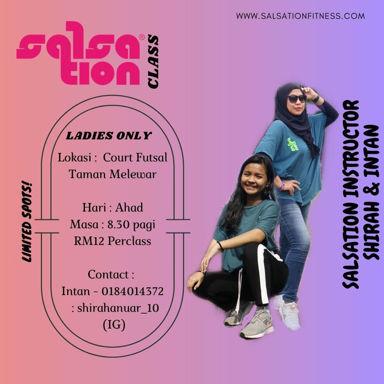 Picture of SALSATION® class with Shahirah Nurul Ain Anuar, Sunday, 08:30