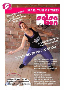 Picture of SALSATION® class with Maja Cuk Greiner, Thursday, 18:45