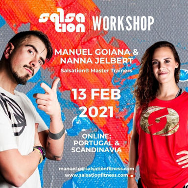 Picture of SALSATION® Workshop with Manuel and Nanna, Portugal and Scandinavia Only, 13 FEB 2021