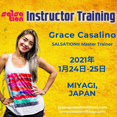 Picture of SALSATION® Instructor Training with Grace, Miyagi, Japan, 24 JAN - 25 JAN 2021