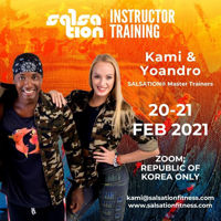Picture of SALSATION® Instructor Training with Kamila and Yoyo, Republic of Korea Only, 20 FEB -  21 Feb 2021
