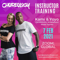 Picture of CHOREOLOGY by Salsation® Instructor Training with Kamila and Yoyo, Online, Global,  07 FEB 2021