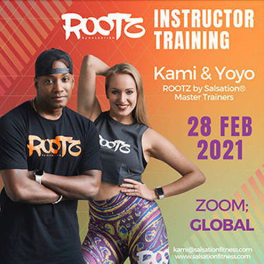 Picture of ROOTZ by Salsation® Instructor Training with Kami and Yoyo, Online, Global,  28 FEB 2021