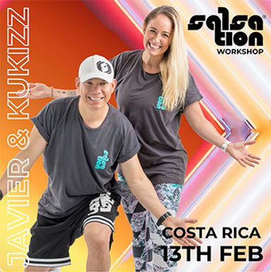 Picture of SALSATION® Workshop with Kukizz and Javier, Alajuela, Costa Rica, 13 FEB 2021