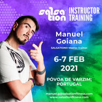 Picture of SALSATION®  Instructor Training with Manuel,  Póvoa de Varzim,  Portugal 06 - 07 FEB 2021