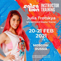 Picture of SALSATION® Instructor Training with Julia, Moscow, Russia, 20- 21 Feb 2021