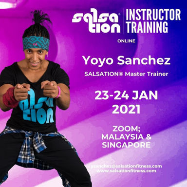 Picture of SALSATION, Instructor training with Yoyo Sanchez, 23 Jan 2021 - 24 Jan 2021