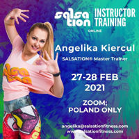 Picture of SALSATION® Instructor Training with Angelika, Online, Poland only, 27 - 28 Feb 2021