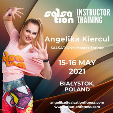 Picture of SALSATION® Instructor Training with Angelika, Białystok, Poland,  15 - 16 May 2021