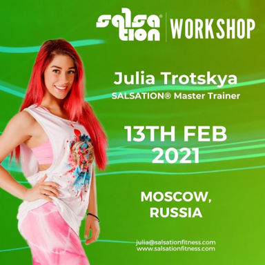 Picture of SALSATION® Workshop with Julia, Moscow, Russia, 13 FEB 2021