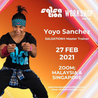 Picture of SALSATION® Workshop with Yoyo, Online, Malaysia and Singapore only, 27 FEB 2021