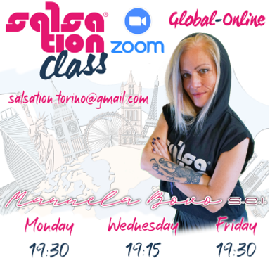 Picture of SALSATION® class with Manuela Bovo, Wednesday, 19:15