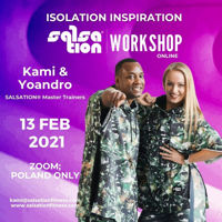 Picture of SALSATION® Isolation Inspiration Workshop with Kami and Yoyo, Online, Poland Only, 13 FEB 2021