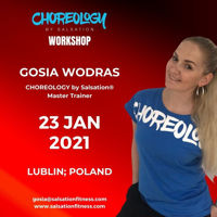Picture of CHOREOLOGY by Salsation® Workshop with Gosia, Lublin, Poland, 23 JAN 2021