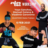 Picture of SALSATION®  Workshop with Yoyo, Manuel and Vladimir, Online, Malaysia and Singapore only,  06 FEB 2021