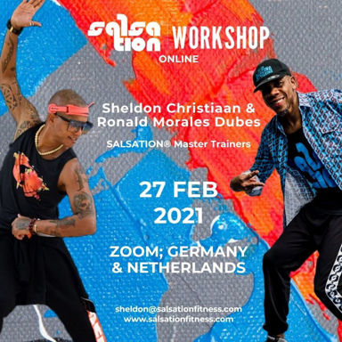 Picture of SALSATION Workshop with Sheldon, Online, Germany and Netherlands only, 27 Feb 2021