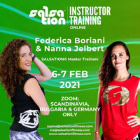 Picture of SALSATION® Instructor Training with Nanna and Ica, Online, Scandinavia, Bulgaria and Germany only, 06 - 07 FEB 2021