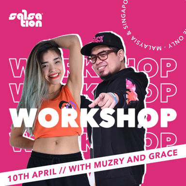 Picture of SALSATION® Workshop with Muzry and Grace, Online, Singapore and Malaysia only ,  10 APR 2021