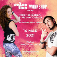 Picture of SALSATION® Workshop with Ica and Manuel, Online, Portugal only, 14 MAR 2021