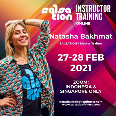 Picture of SALSATION® Instructor Training with Natasha, Online, Indonesia and Singapore Only,  27 - 28 Feb 2021