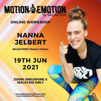 Picture of SALSATION® Motion 2 Emotion Workshop with Nanna, Online, Malaysia and Singapore only,  19 JUN 2021