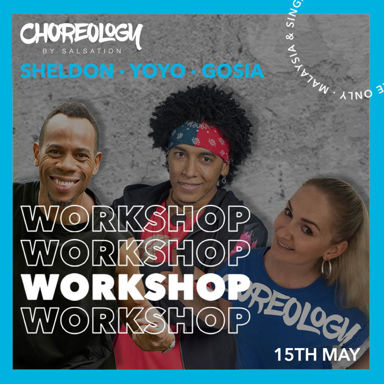 Picture of CHOREOLOGY by Salsation® Workshop with Yoyo, Gosia and Sheldon, Online, Global, 15 MAY 2021