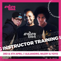 Picture of SALSATION® Instructor Training with Alejandro, Yoyo, and Muzry, Online, Malaysia and Singapore only, 03 - 04 Apr 2021