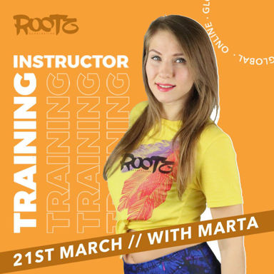 Picture of ROOTZ by Salsation® Instructor Training with Marta, Online, Global,  21 MAR 2021