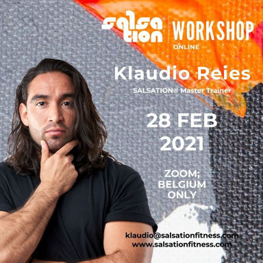 Picture of SALSATION® Workshop with Klaudio, Online, Belgium and Luxembourg only, 28 FEB 2021