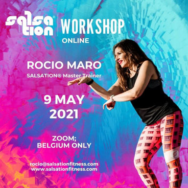 Picture of SALSATION® Workshop with Rocío, Online, Belgium and Luxembourg only, 09 MAY 2021