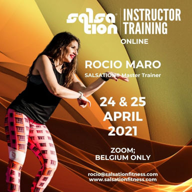 Picture of SALSATION® Instructor Training with Rocío, Online, Belgium and Luxembourg only, 24 - 25 APR 2021