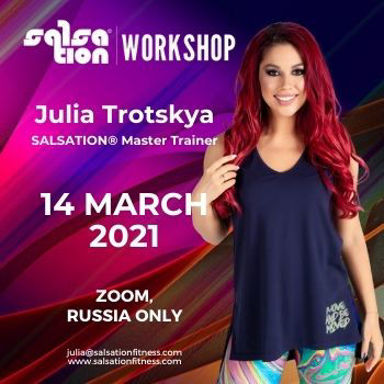 Picture of SALSATION®  Workshop with Julia, Online, Russia only,  14 MAR 2021