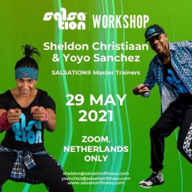 Picture of SALSATION® Workshop with Sheldon and Yoyo, Online, Netherlands Only, 29 May 2021