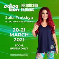 Picture of SALSATION Instructor training with Julia, Online, Russia Only, 20 Mar 2021 - 21 Mar 2021