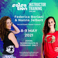 Picture of SALSATION Instructor training with Nanna and Federica, Online, Germany and Scandinavia, 08 May 2021 - 09 May 2021