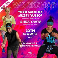 Picture of SALSATION Workshop with Yoyo, Muzry and Eka, Online, Malaysia and Singapore, 20 Mar 2021