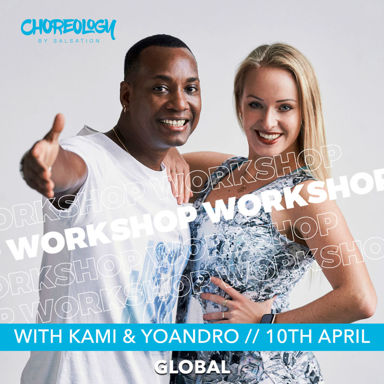 Picture of CHOREOLOGY Workshop with Kami and Yoandro, Online, Global, 10 Apr 2021