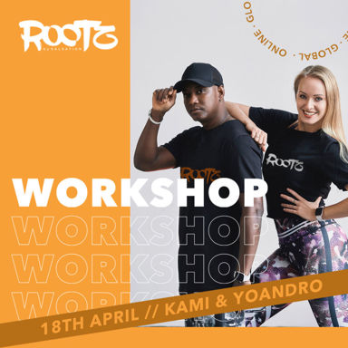 Picture of ROOTZ Workshop with Kami and Yoandro, Online, Global, 18 Apr 2021