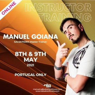 Picture of SALSATION Instructor training with Manuel, Online, Portugal Only, 08 May 2021 - 09 May 2021