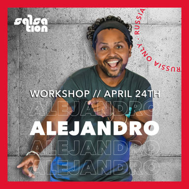 Picture of SALSATION Workshop with Alejandro, Online, Russia Only, 24 Apr 2021