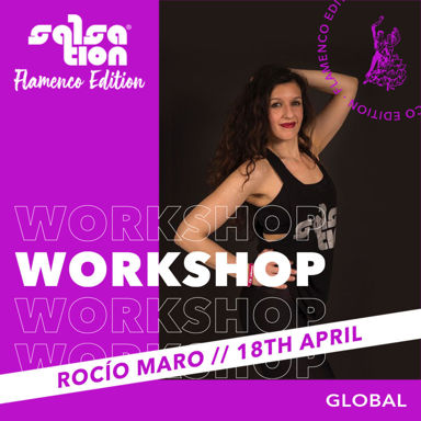 Picture of SALSATION Flamenco Edition Workshop with Rocio, Online, Global, 18 Apr 2021