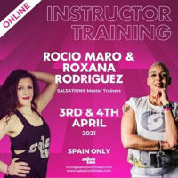 Picture of SALSATION Instructor training with Rocio and Roxana, Online, Spain only, 03 Apr 2021 - 04 Apr 2021