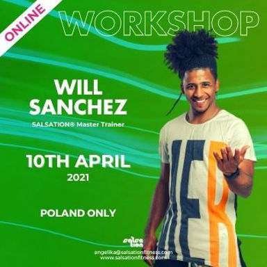 Picture of SALSATION Workshop with Will, Online, Poland Only, 10 Apr 2021