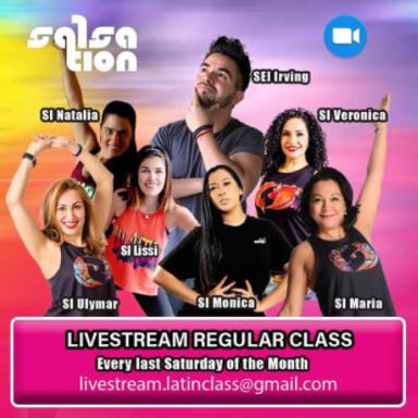 Picture of SALSATION® class with Veronica Garcia de Witzleb, Saturday, 16:00
