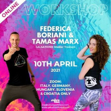 Picture of SALSATION Workshop with Federica and Tamas, Online, Italy, Germany, Hungary, Slovenia and Croatia, 10 Apr 2021